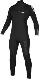 2020 Mystic Mens Majestic 3/2mm Chest Zip Wetsuit 200004 - Black