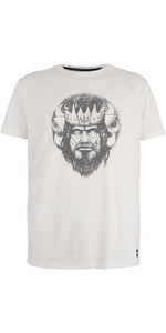 2019 Mystic Mens Majestic Tee White 190058