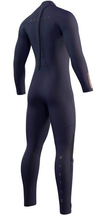 2021 Mystic Mens Marshall 3/2mm Back Zip Wetsuit 210065 - Night Blue
