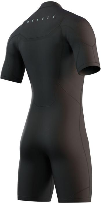 2021 Mystic Mens Marshall 3/2mm Shorty Wetsuit 210113 - Black