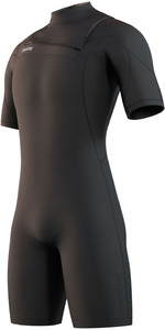 2021 Mystic Mens Marshall 3/2mm Shorty Wetsuit 210113 - Black
