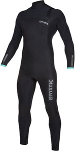 2019 Mystic Mens Marshall 5/3mm Chest Zip Wetsuit 200007 - Black / Mint