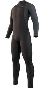 2022 Mystic Mens Marshall 4/3mm Chest Zip Wetsuit 35000.220011 - Black / Grey