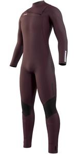 2021 Mystic Mens Marshall 5/3mm Front Zip Wetsuit 200007 - Merlot