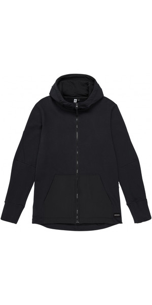 2018 Mystic Mens Matt Sweat Hoody Caviar 190010