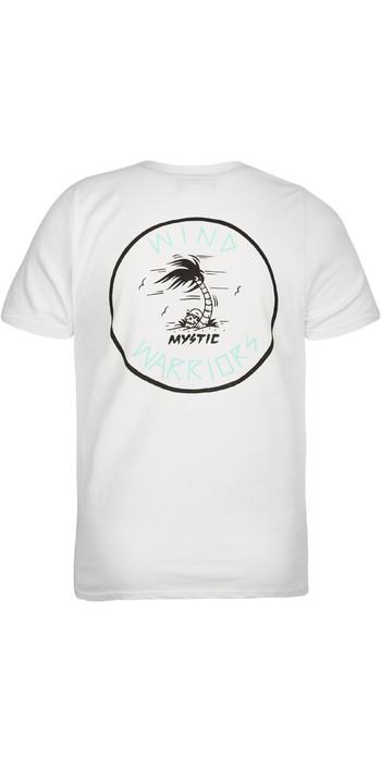 2020 Mystic Mens Paradise T-Shirt 200550 - White