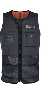 2020 Mystic Mens Peacock Impact Vest Front Zip WPE - Phantom Grey