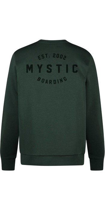 2021 Mystic Mens Rider Crew Sweat 210007 - Green