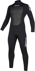 2019 Mystic Mens Star 4/3mm Back Zip Wetsuit 200016 - Black