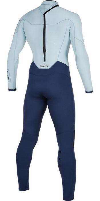 2021 Mystic Mens Star 5/3mm Back Zip Wetsuit 200015 - Navy / Grey