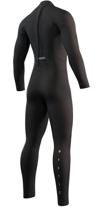 2021 Mystic Mens Star 4/3mm Back Zip Wetsuit 210311 - Black