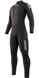 2021 Mystic Mens Star 3/2mm Back Zip Wetsuit 210311 - Black