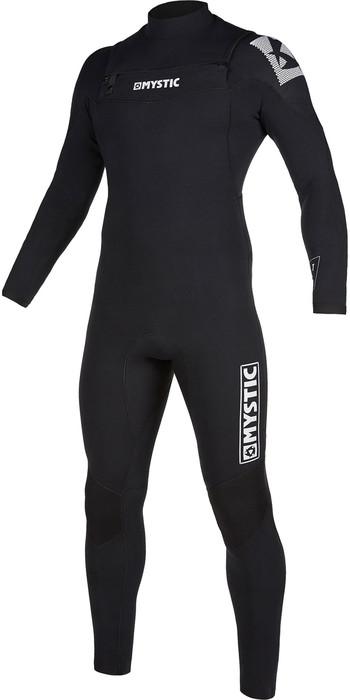 2021 Mystic Mens Star 5/3mm Double Front Zip Wetsuit 200012 - Black