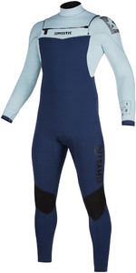 2021 Mystic Mens Star 5/3mm Double Front Zip Wetsuit 200012 - Navy / Grey