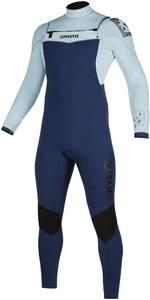 2019 Mystic Mens Star 5/3mm Double Front Zip Wetsuit 200012 - Navy / Grey