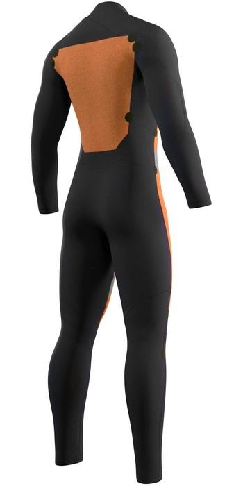 2021 Mystic Mens Star 4/3mm Double Front Zip Wetsuit 210306 - Black