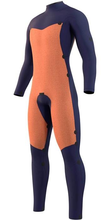 2021 Mystic Mens Star 5/3mm Double Front Zip Wetsuit 210305 - Night Blue