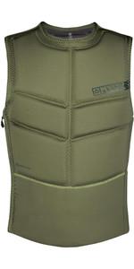 2020 Mystic Mens Star Kite Impact Vest Front Zip 200109 - Brave Green