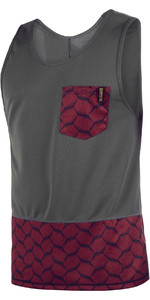 2019 Mystic Mens Supreme Quick Dry Tank Top Dark Red 190097