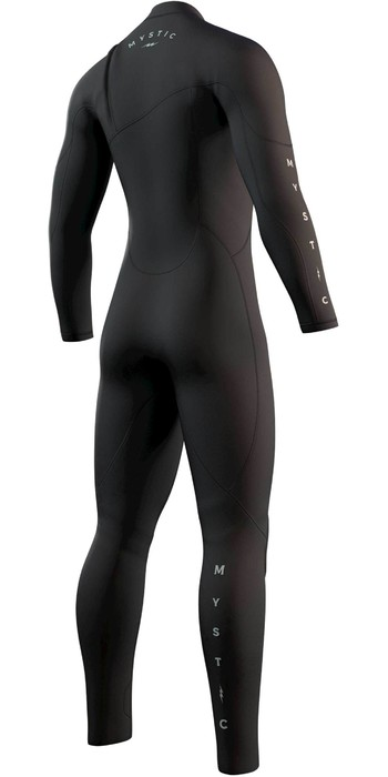 2021 Mystic Mens The One 4/3mm Zip Free Wetsuit 210071 - Black