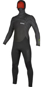 2019 Mystic Mens Voltt 6/4/3mm Hooded Chest Zip Wetsuit 20000 - Black