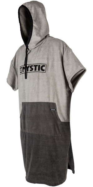 2018 Mystic Poncho Regular Light Grey 180031