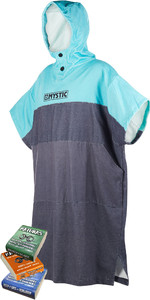 Mystic Regular Poncho / Change Robe Mint & Mixed Matunas Wax