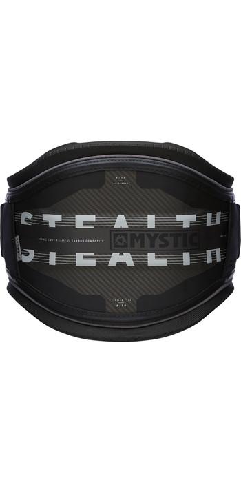 2021 Mystic Stealth Waist Harness NO BAR 20009 - Black / White