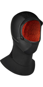 2021 Mystic Supreme 3mm Neoprene Hood 200029 - Black
