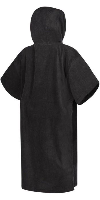 2021 Mystic Velour Change Robe Poncho 35018.210134 - Black