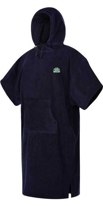 2021 Mystic Velour Change Robe Poncho 35018.210134 - Night Blue