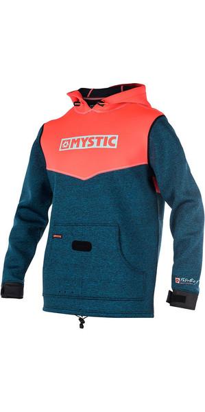 2018 Mystic Voltage Sweat Neoprene Hoody Coral 170090