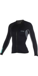 2020 Mystic Womens Brand 1.5mm Neoprene Jacket Black 190171
