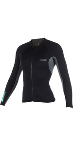2019 Mystic Womens Brand 1.5mm Neoprene Jacket Black 190171
