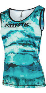 2019 Mystic Womens Dazzled Quick Dry Tank Top Mint 190106