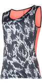 Mystic Womens Dazzled Quickdry Loose Fit Tank Top Grey 180144