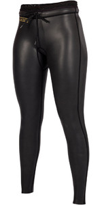 2019 Mystic Womens Diva Black Series 2mm Neoprene Trousers Black 180095