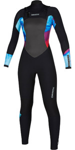 2019 Mystic Womens Diva 4/3 Double Chest Zip Wetsuit 200020 - Aurora