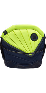 2019 Mystic Womens Diva Multi-Use Waist Harness With Bar Navy / Lime 190115