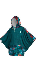 2020 Mystic Womens Poncho / Change Robe 200133 - Teal