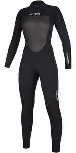 2019 Mystic Womens Star 3/2mm Back Zip Wetsuit 200028 - Black