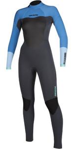 2021 Mystic Womens Star 3/2mm Back Zip Wetsuit 200028 - Menthol Blue
