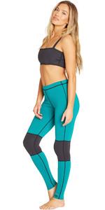 2019 Billabong Womens 1mm Neoprene Sea Legs Palm Green N41G03