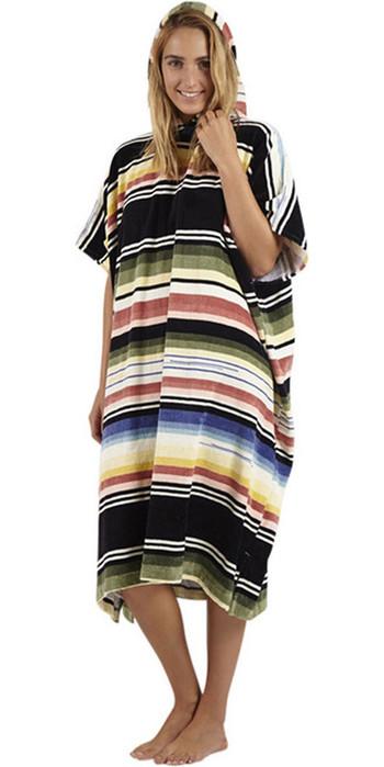2021 Billabong Salty Hooded Changing Robe / Poncho Serape N4BR20