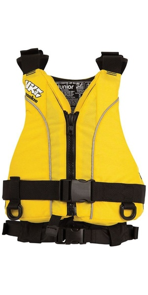 2019 NKE Junior Centre Zip Buoyancy Aid Yellow BA03