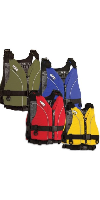 2021 NKE Centre Zip Buoyancy Aid BA03 - Colour coded by size