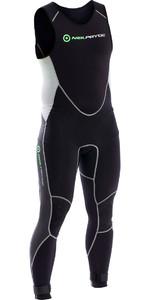 2018 Neil Pryde Elite Firewire 1mm Long John Wetsuit Black / Silver SAB606