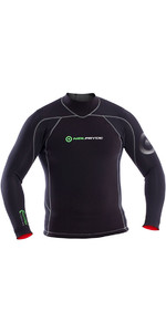 2019 Neil Pryde Elite Firewire 3mm Long Sleeve Top Black SAB601