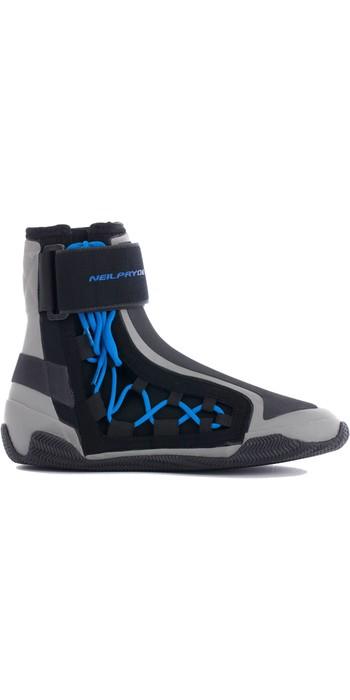 Neil Pryde Elite Lace Lite Neoprene Boots 630402 - Black / Blue