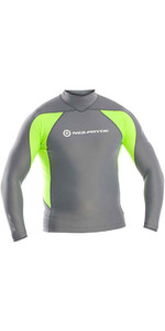 Neil Pryde Elite Long Sleeve Rash Vest Ash Green WUKRSB938